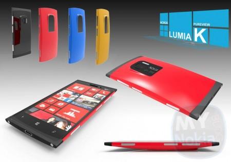 Nokia Lumia K концепт Windows Phone 8