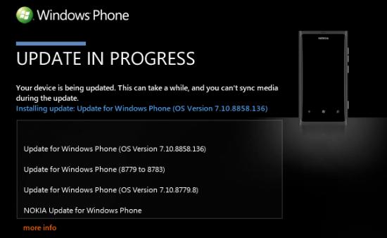 Windows Phone 7.8 Обновление