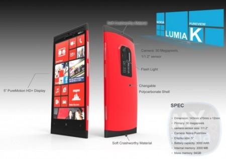 Концепт Nokia Lumia K