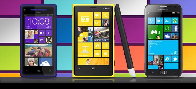 Рейтинги Windows Phone 8
