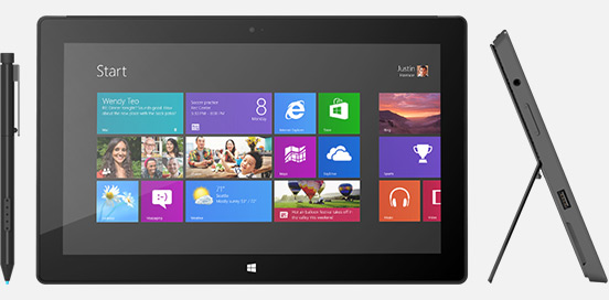 Microsoft Surface Pro появился на полках
