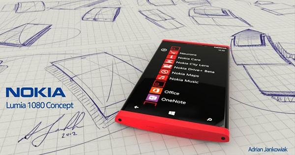 Nokia Lumia 1080. Концепт смартфона