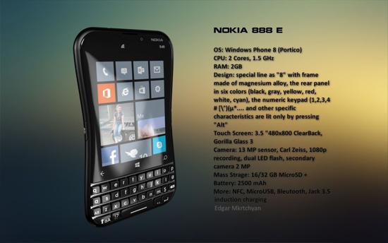Nokia 888 E