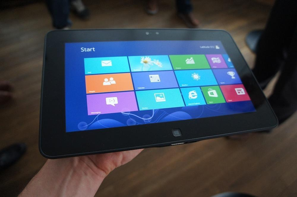 Dell Latitude Windows 8 Планшет