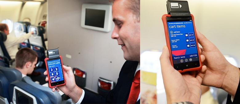 Nokia Lumia как платежный терминал