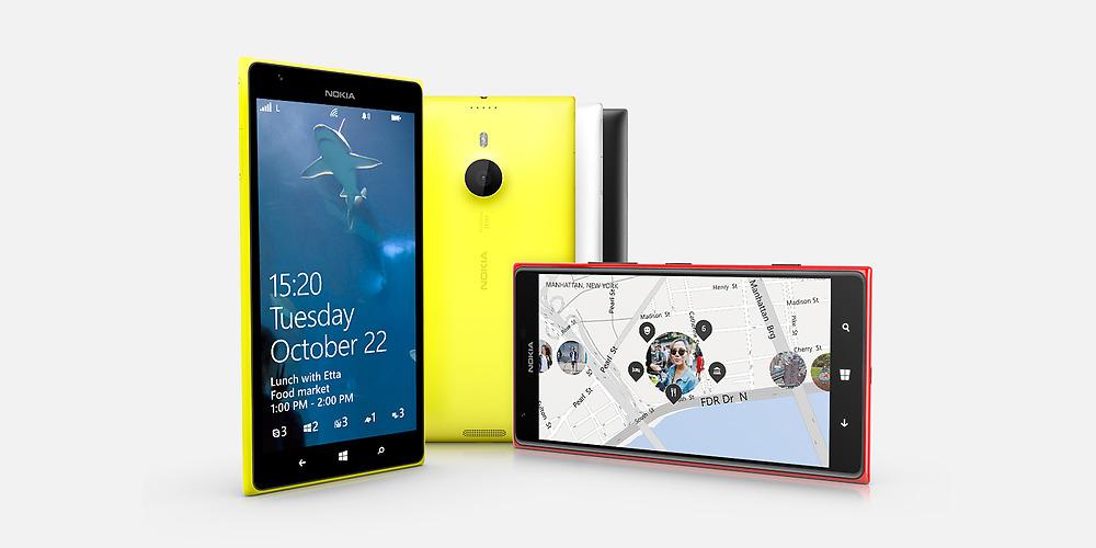 Nokia Lumia 1520 - Nokia Lumia 1320