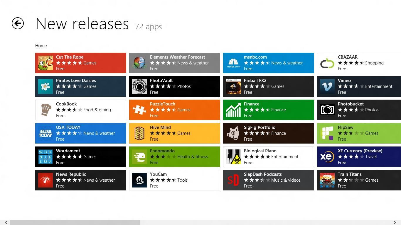 Магазин приложений для Windows Phone и Windows
