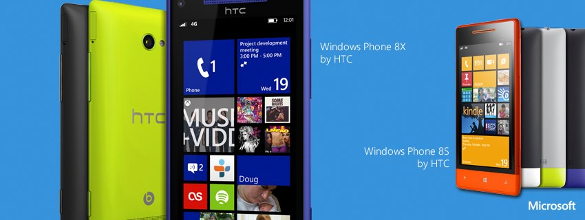 HTC Windows Phone 8X and HTC Windows Phone 8S