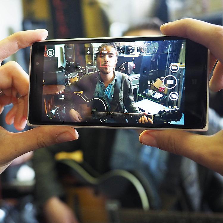 Lumia 830 Камера